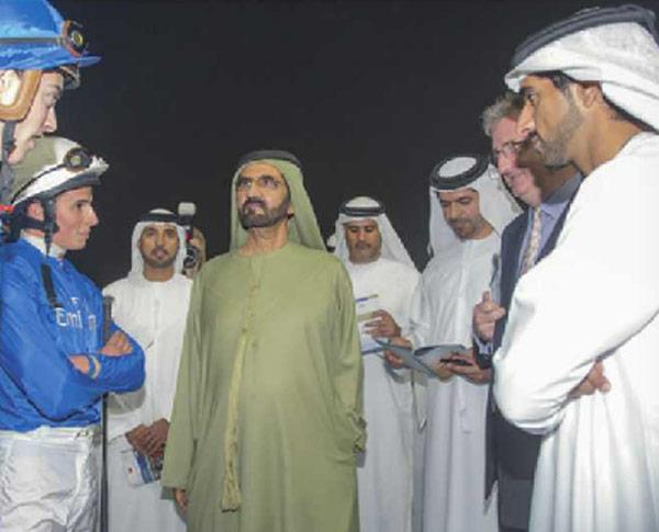 تقدیر شیخ محمد بن راشد از حضور خوب اسب های اماراتی در مسابقات سوپر ساتردای